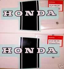 Honda CT/ST 70 Dax New Tank Stickers Rare Vintage 87125-098-505 & 87124-098-505