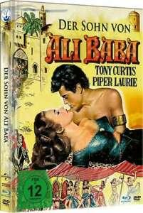 Der Sohn von Ali Baba [Blu-ray + DVD im Mediabook /NEU/OVP] Tony Curtis, Piper L
