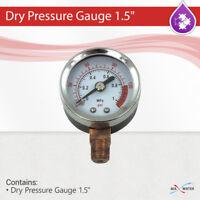 """Vertical Dry Pressure Gauge 1.5"""" , pressure range 0 - 150 PSI"""