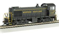 Bachmann N Scale WESTERN MARYLAND Alco S4 Diesel Locomotive w/ DCC. NEW!