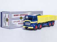 Dinky Toys Atlas 1/43 DINKY SUPERTOYS 934 LEYLAND OCTOPUS WAGON FLAT TRUCK MODEL