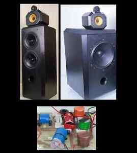 B&W 801/ 802  S2 matrix Speakers - cross-over full upgrade service  (Each)