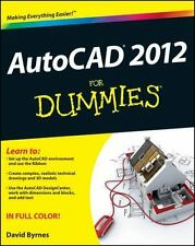 AutoCAD 2012 For Dummies by Byrnes, David in Used - Like New