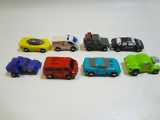Transformers G1 Micromasters Battle Patrol Race Car NOT Complete Lot 8 Robots