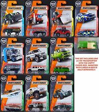 2017 Matchbox Wave G - All 10 Vehicles/Mercedes-Benz G63/VW Cab EMPTY BED/MOC