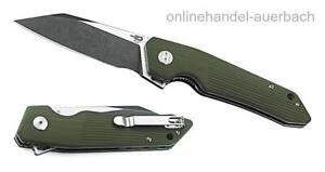 BESTECH KNIVES Barracuda Green BG15B-2 Taschenmesser Klappmesser Messer
