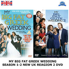MY BIG FAT GREEK WEDDING COMPLETE COLLECTION 1-2 SEASON 1 2 NEW SEALED UK R2 DVD