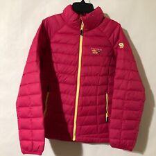 Mountain Hardwear Girls Micro Ratio Down Jacket sizes XS(6/6X-6/7)  Large(14/16)
