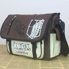 Anime Attack On Titan Messenger Bag 600D Waterproof School Bag Satchel Holdall
