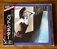 PAT BENATAR ~ HEAT OF THE NIGHT ~ JAPAN PROMO CD WITH OBI STILL FACTORY SEALED