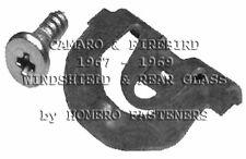 67-69 CAMARO SS  FIREBIRD WINDSHIELD AND REAR GLASS REVEAL CLIPS 42