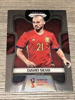 2018 Panini Prizm World Cup David Silva Base Prizm Card Spain