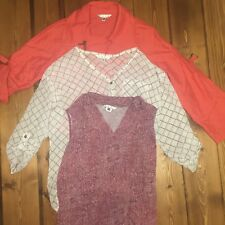 CAbi Women's Lot Of 3 Lightweight Jacket Blouses Size XS
