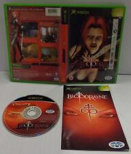 Game Console Gioco Microsoft XBOX PAL ITALIANO Play ITA Vampiri - BLOODRAYNE -