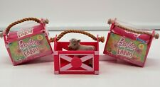 Barbie Sweet Orchard Farm-Blind Bag Lot of 2-Pet Carriers Series 1-New/Free Ship