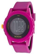 Nixon Women's Silicone/Rubber Band Wristwatches