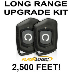 Js Alarms Long Range Extended Range Level 1 Way Remote Start For Flashlogic CA1