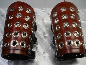 LEATHER GAUNTLETS. VIKING  ....(MDLG0173)..... TO DIE FOR'S