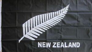 New Zealand Silver Fern Flag LARGE Maori NZ Flag  AUSPOST REGISTERED TRACKING
