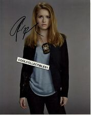 GENEVIEVE ANGELSON IN PERSON SIGNED 8X10 COLOR PHOTO
