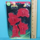 Wilton Mighty Morphin Saban Power Rangers 4 Cookie Cutters Vintage In Package