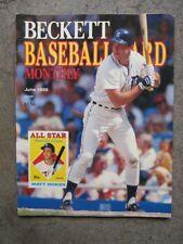 Beckett Baseball Card Monthly June 1988 Matt Nokes/Dwight Gooden covers.