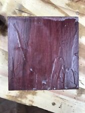 """One Purple heart 5 1/2 x 5 1/2 x 2"""" wood turning lath carving bowl blank"""