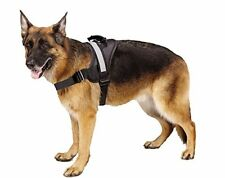 German Shepherd Harness Dog Big Dogs Pets Soft Reflective Travel Black XL NEW