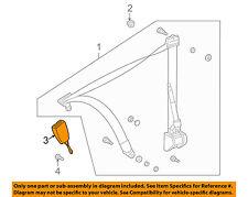 MERCEDES OEM SLK32 AMG Front Seat Belt-Buckle Left 1708600969