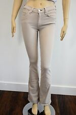RAG & BONE ELEPHANT BELL LIGHT BROWN COTTON BLEND DENIM JEANS SIZE 25 sh