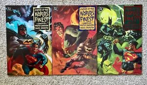 LEGENDS OF THE WORLD'S FINEST #1-3 - COMPLETE DC COMICS SERIES, MINT CONDITION