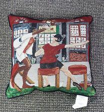 Annie Lee Tapestry Throw Pillow 777/Black Americana/ Black American Art