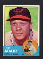 1963 Topps  #488 Jerry Adair EXMT/EXMT+ C00005517