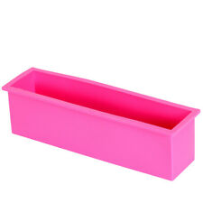Rectangle Loaf Soap Mold Silicone DIY Cold Processing Tools Cake Baking Toast