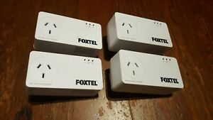 BARGAIN! 4 x Netcomm NP511 Powerline Adapters 500Mbps TESTED & PAIRED.