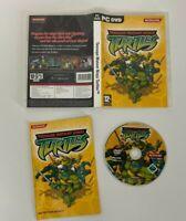TEENAGE MUTANT NINJA TURTLES RETRO PC GAME KONAMI - VGC - Complete - Free P&P