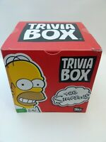 The Simpsons Game Trivia Box-Family Game Night (New Sealed)
