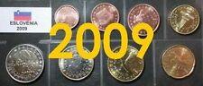 Pièces euro de la Slovénie Année 2009