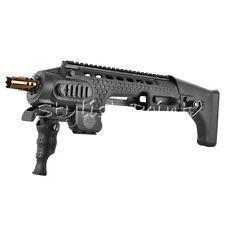 Airsoft APS Caribe Action Combat Pistol Carbine Conversion Kit For G17 18C Black