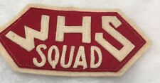 Vintage Wauwatosa High School Squad East West Wi Football Patch High Tosa 1930's