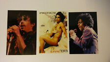 Prince pop purple rain lovesex vintage foto Photo pictures set