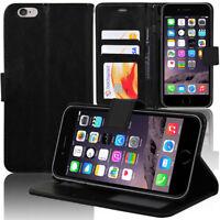 Housse Etui Coque Cuir Silicone Gel PU Case Film Verre POUR Apple iPhone 6/ 6s