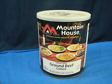 Mountain House Ground Beef Freeze Dried Emergency Food #10 can 1 lb 13oz