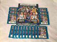 🔥2019-20 PANINI NBA BASKETBALL STICKER COLLECTION 16 TOTAL PACKS w. ALBUM🔥