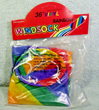 "36"" Rainbow Windsock"