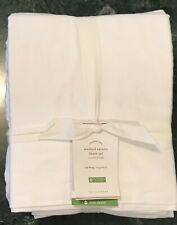 Pottery Barn Washed Sateen SHEET SET,  White Size Cal King, W/$179.00