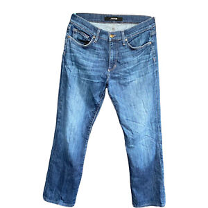 Joes Jeans The Classic Holloway Mens Blue Denim W 31 Straight Fit Low Rise FLAW