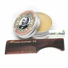 Captain Fawcett's Expedition Strength Firm Hold Moustache Wax 15ml + FREE COMB