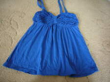 Abercrombie & Fitch Strappy Top Blue M