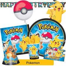 Artículos de fiesta Amscan cumpleaños infantil de Pokémon